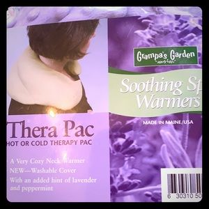 Hot or Cold Therapy Neckwrap Plush-Never Used New
